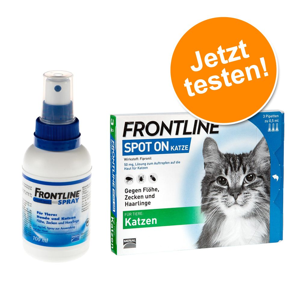 Frontline® Kombipaket: Spray + Spot on Katze - ...
