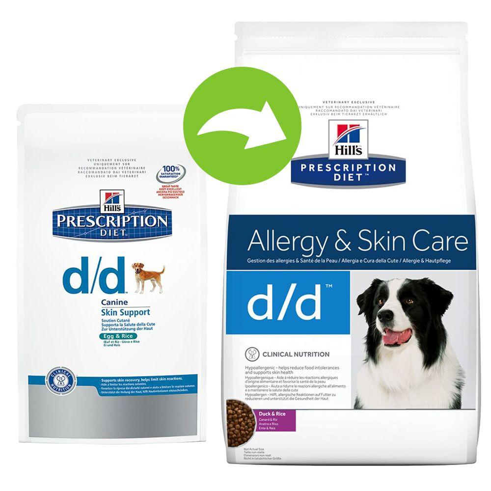 Chien Croquettes Hill´s Prescription Diet Allergies et intolérances alimentaires chez le chien