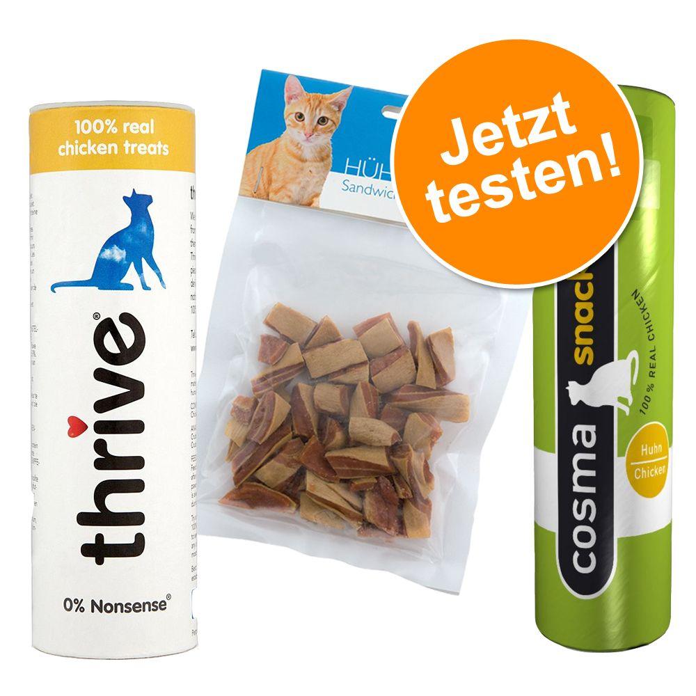 Gemischtes Paket für getrocknete Snacks - getrocknetes Snackpaket mit Huhn