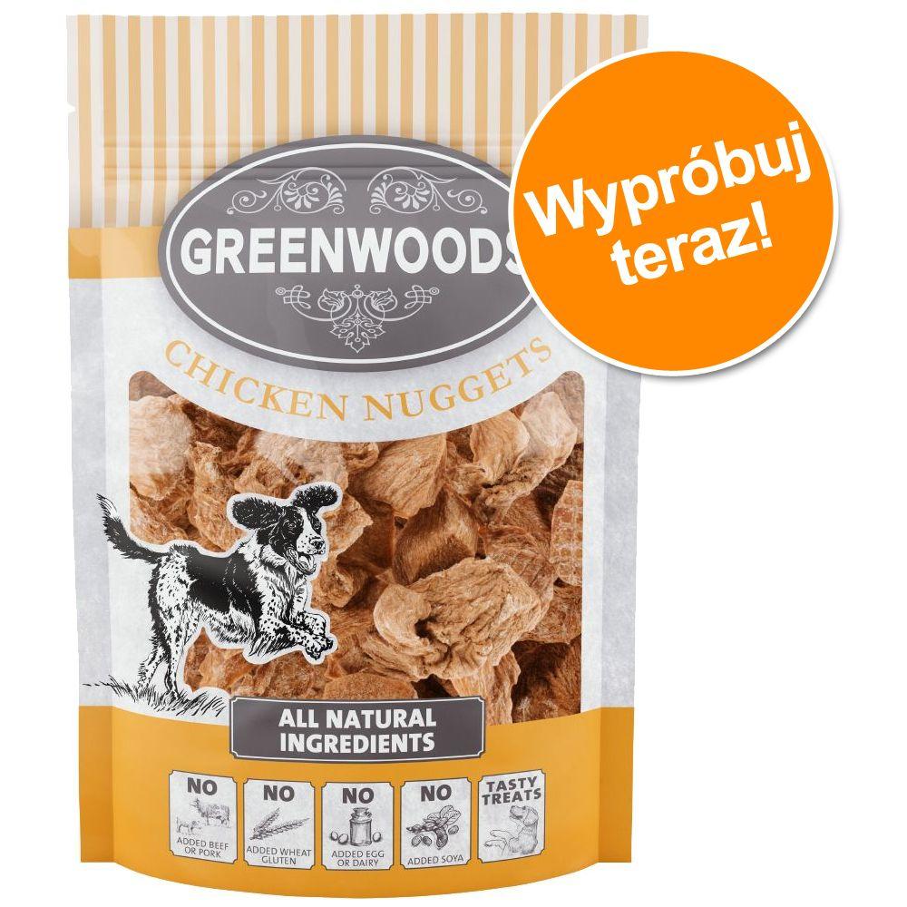 Pakiet próbny Greenwoods Nuggets - Pakiet mieszany: 1 x kurczak + 1 x kaczka