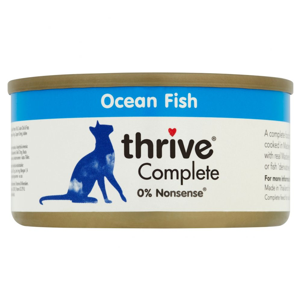 thrive Complete Fish Selection 6 x 75g - Ocean Fish