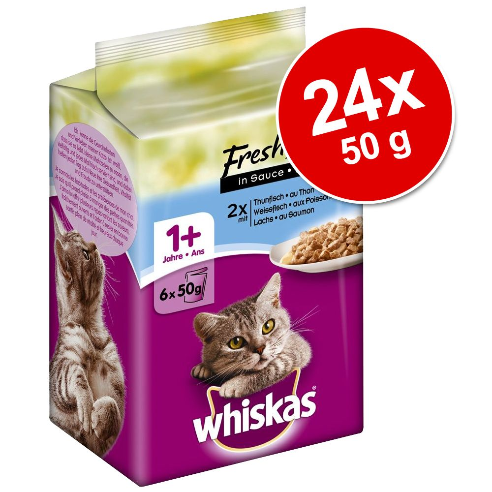 Megapakiet Whiskas Fresh
