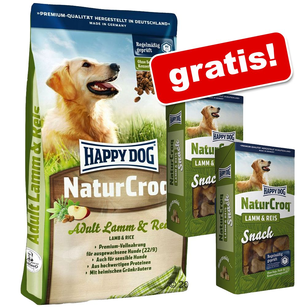happy dog naturcroq active 15 kg preisvergleich hundefutter g nstig kaufen bei. Black Bedroom Furniture Sets. Home Design Ideas