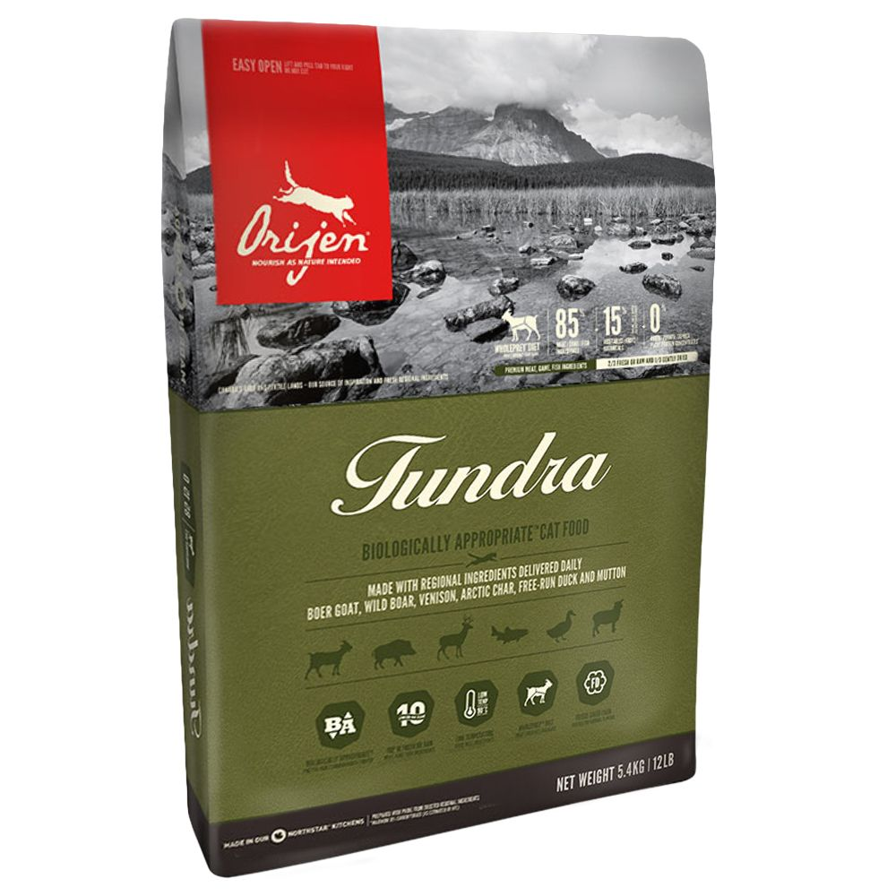 Orijen Tundra Dry Cat Food - 340g
