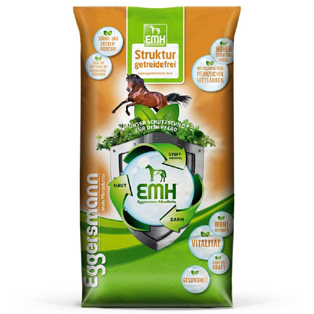 15kg Eggersmann Struktur sans céréales pour cheval - Alimentation pour cheval