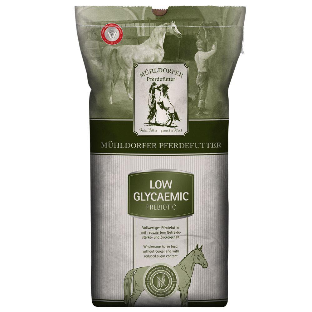 2x15kg Low Glycaemic prebiotic Mühldorfer pour cheval