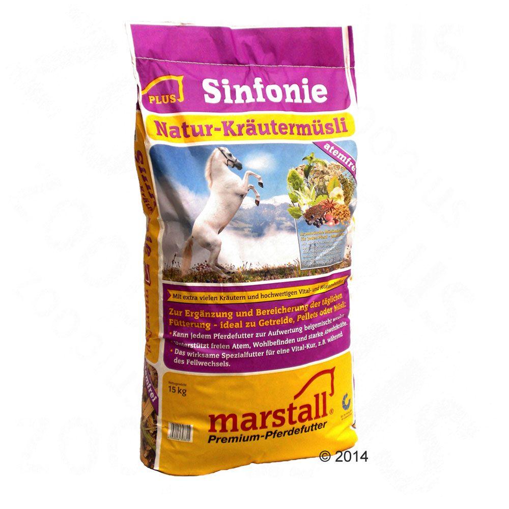 Marstall Sinfonie Muesli aux herbes pour cheval - 15 kg