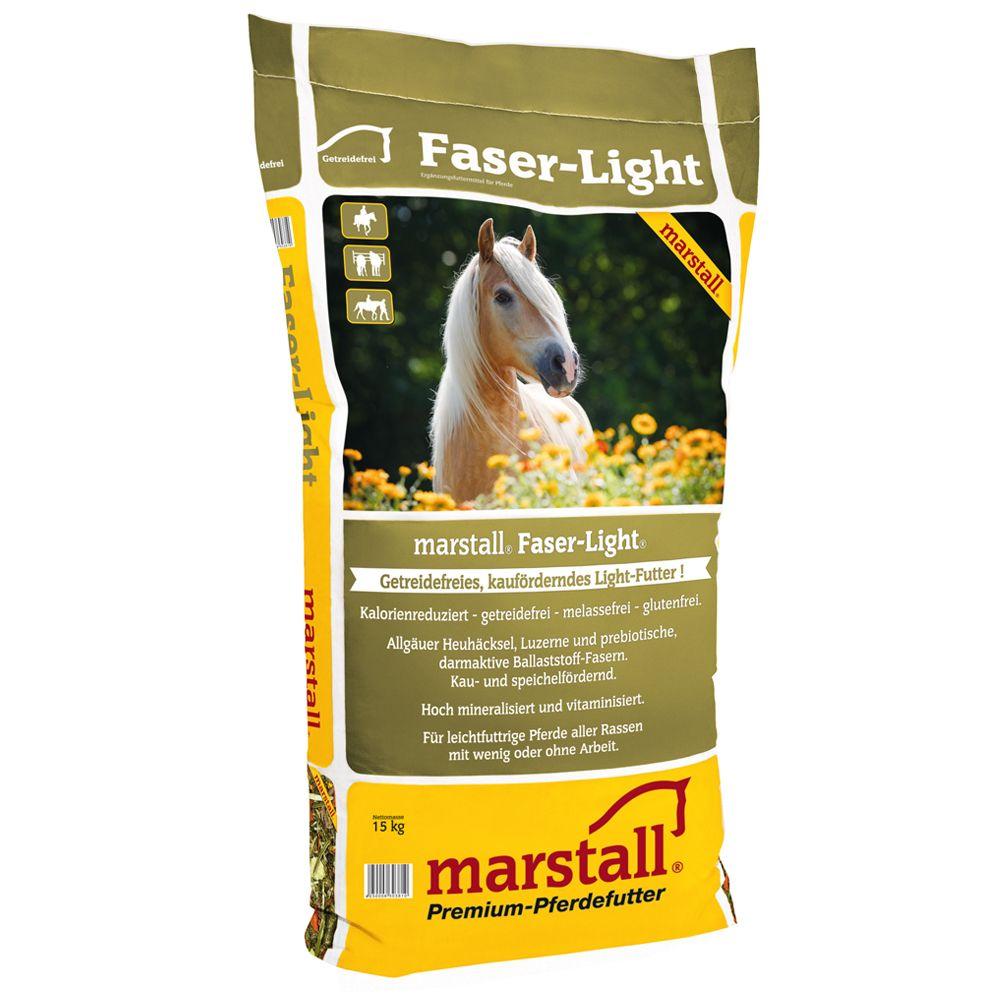 2x15kg Marstall Faser Light - Nourriture pour cheval