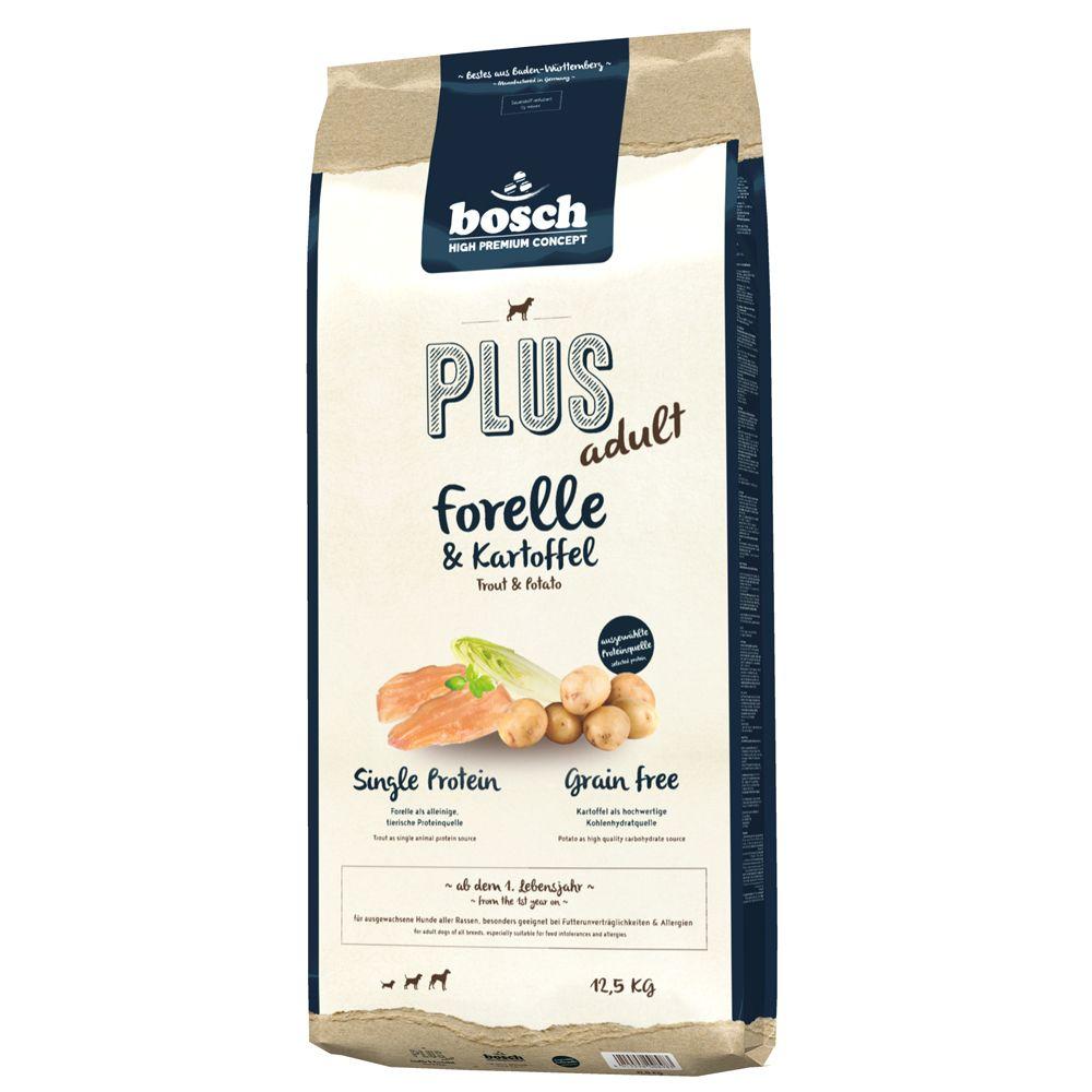 bosch Plus Forelle & Kartoffel - 12,5 kg
