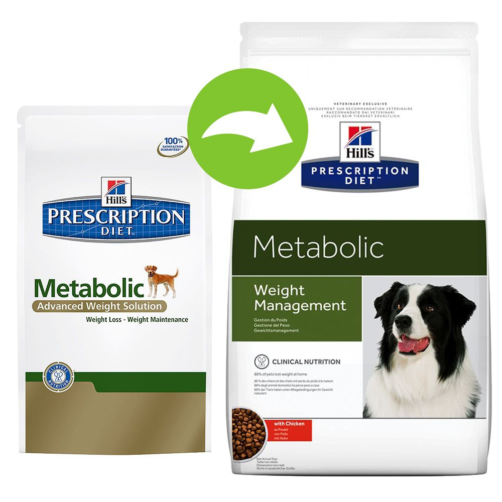 Hill's Prescription Diet Canine - Metabolic Weight Management - Economy Pack: 2 x 12kg