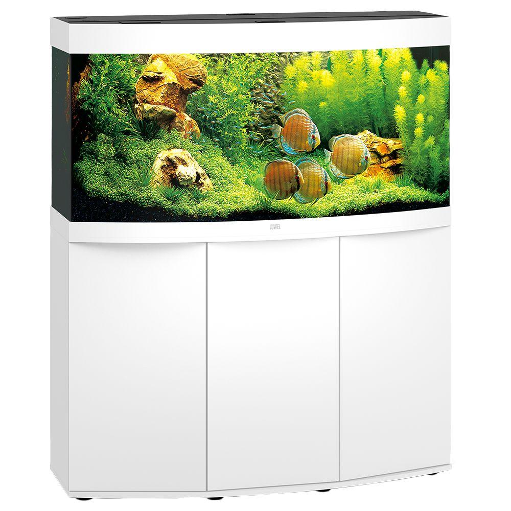 Juwel Vision 260 -akvaario + akvaariokaappi - tummanruskea