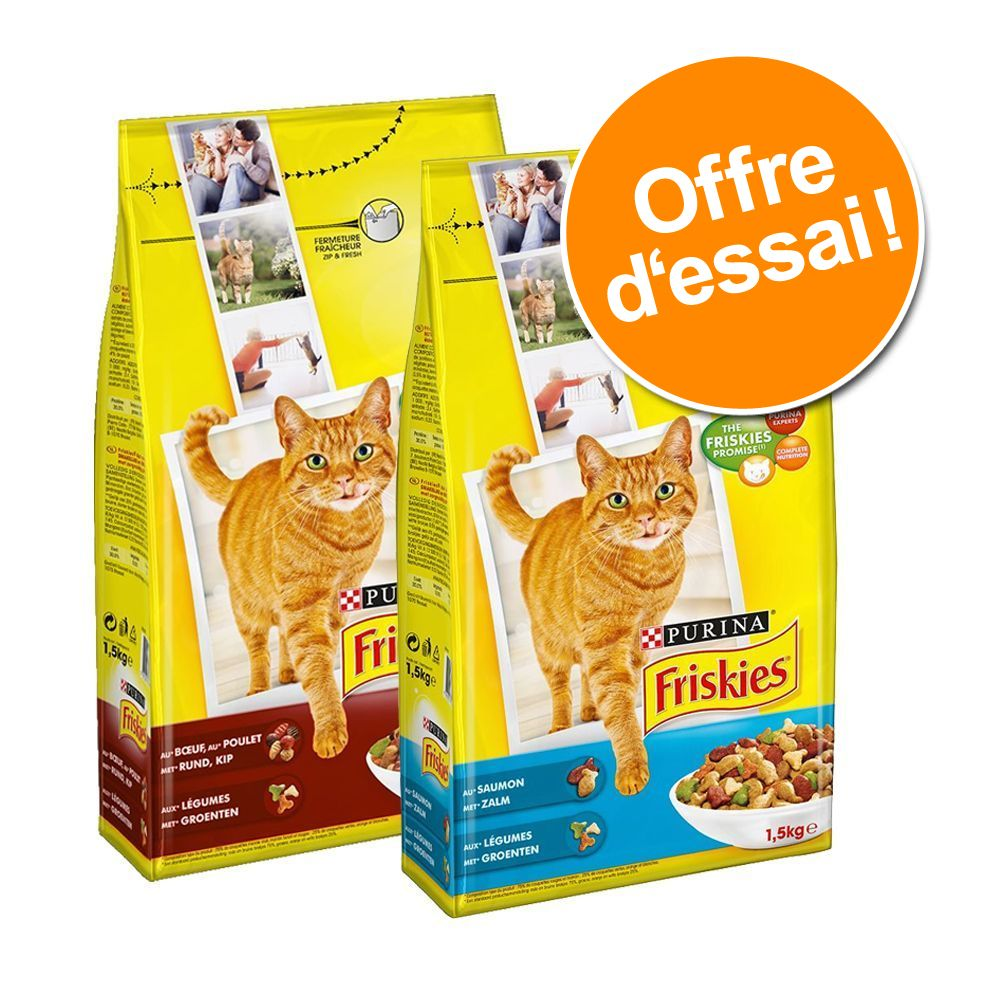 Chat Croquettes Friskies