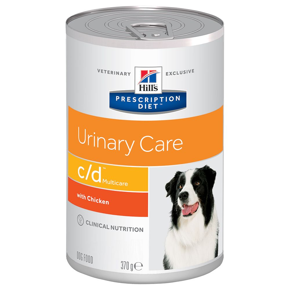 Hill's Prescription Diet c/d Multicare Urinary Care hundmat med kyckling - 12 x 370 g