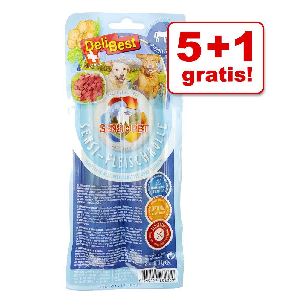 5+1 gratis! 6 x DeliBest Sensi Fleischrolle - 6...