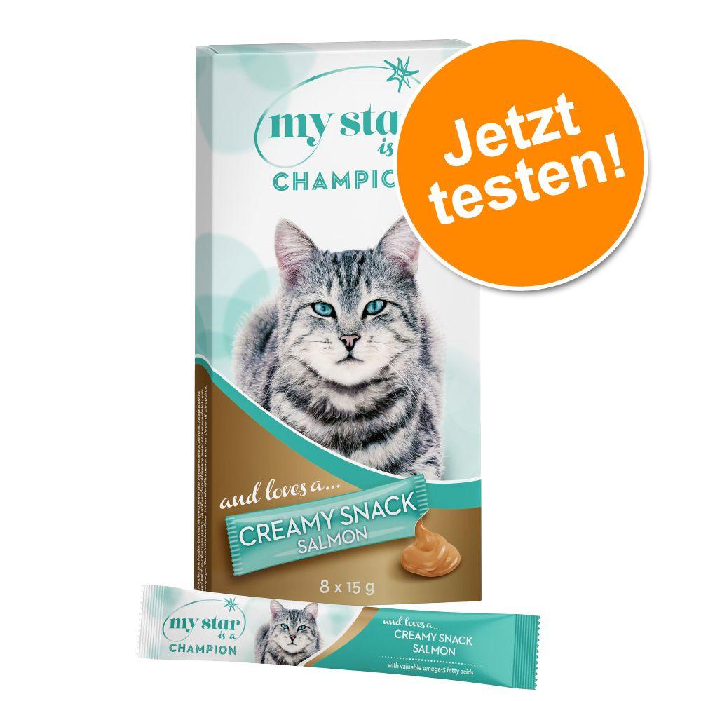My Star Creamy Snack zum Probierpreis 8 x 15 g ...