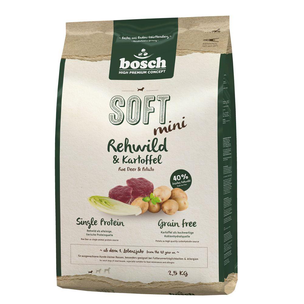 Foto Bosch HPC Soft Mini Capriolo & Patate - 2 x 2,5 kg - prezzo top! HPC Soft e Plus