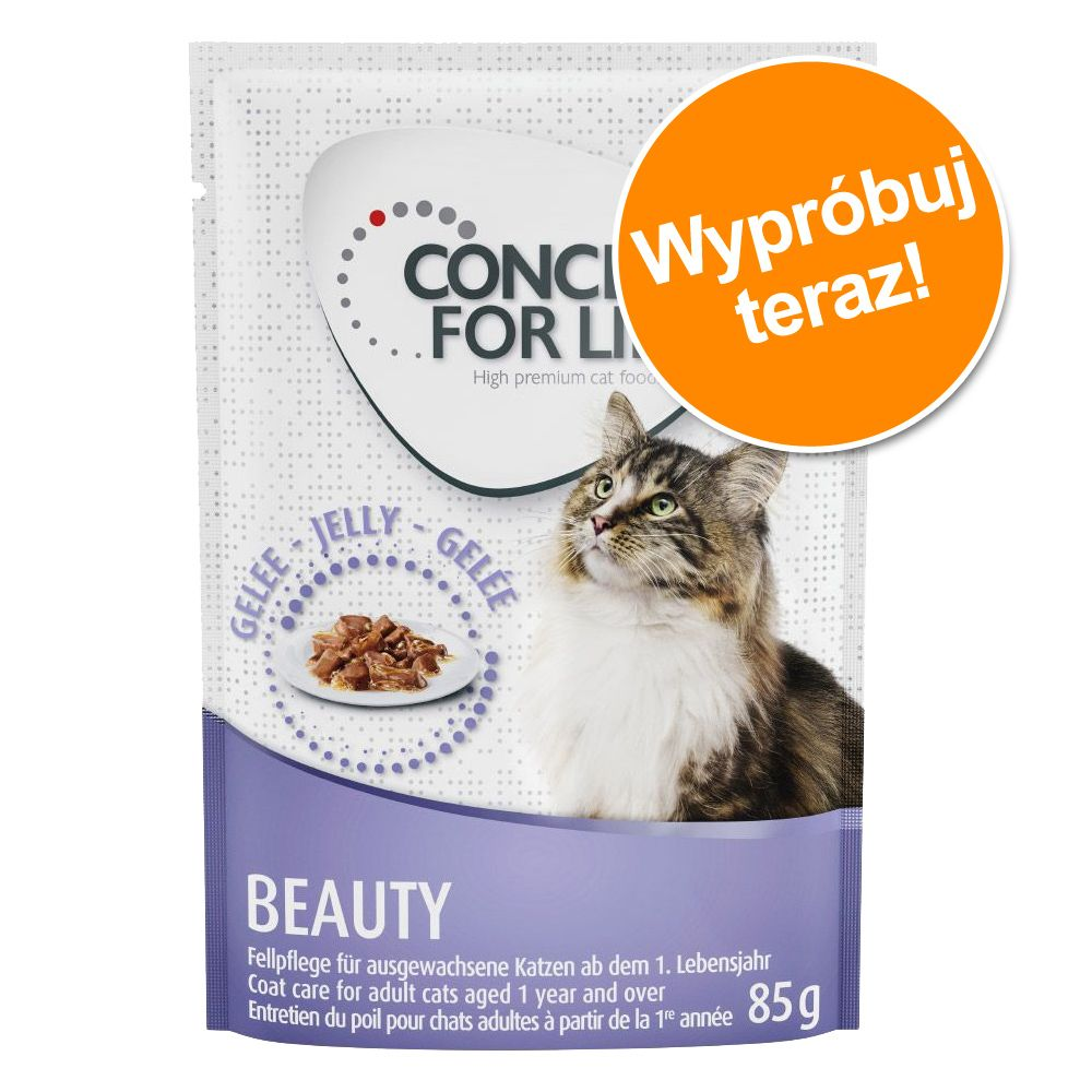 Pakiet próbny Concept for Life, 3 x 85 g! - All cats - w sosie