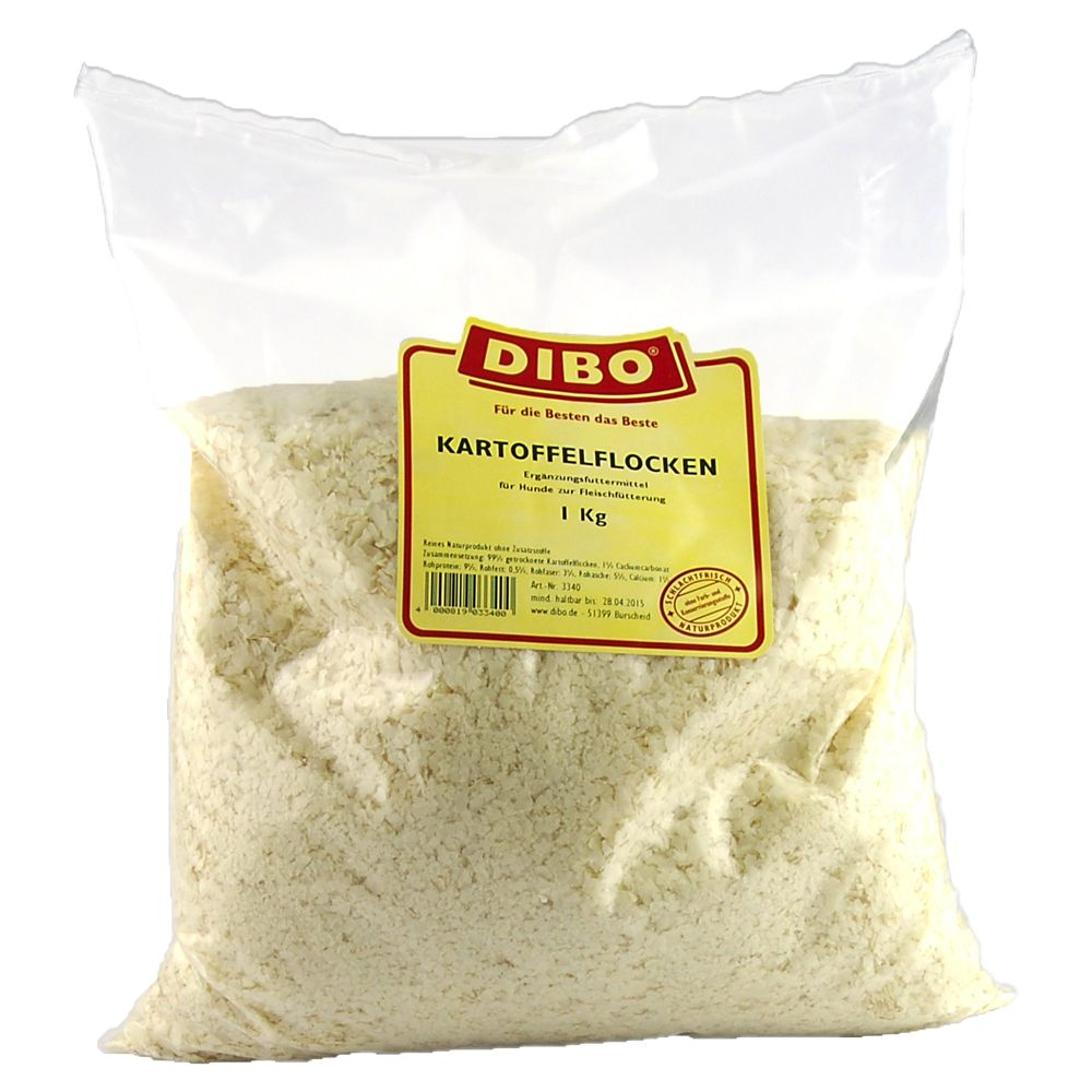 Dibo Potato Flakes - Economy Pack: 3 x 1kg