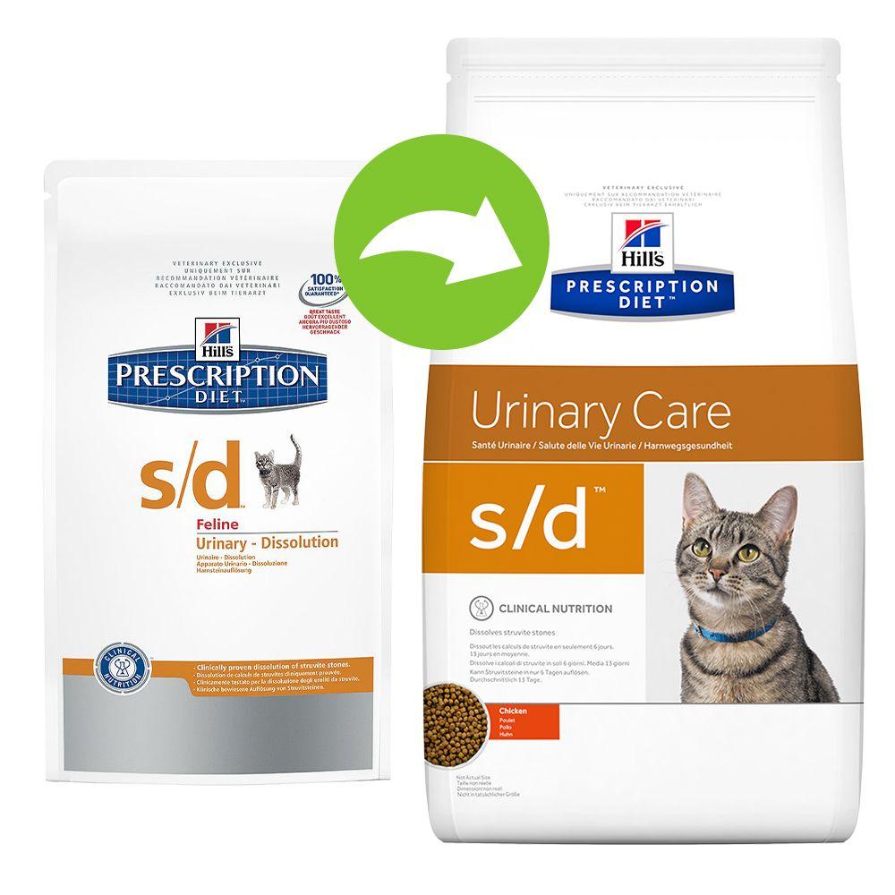 Foto Hill's s/d Prescription Diet Feline - secco - 2 x 5 kg - prezzo top! Hill's Prescription Diet Reni e vie urinarie