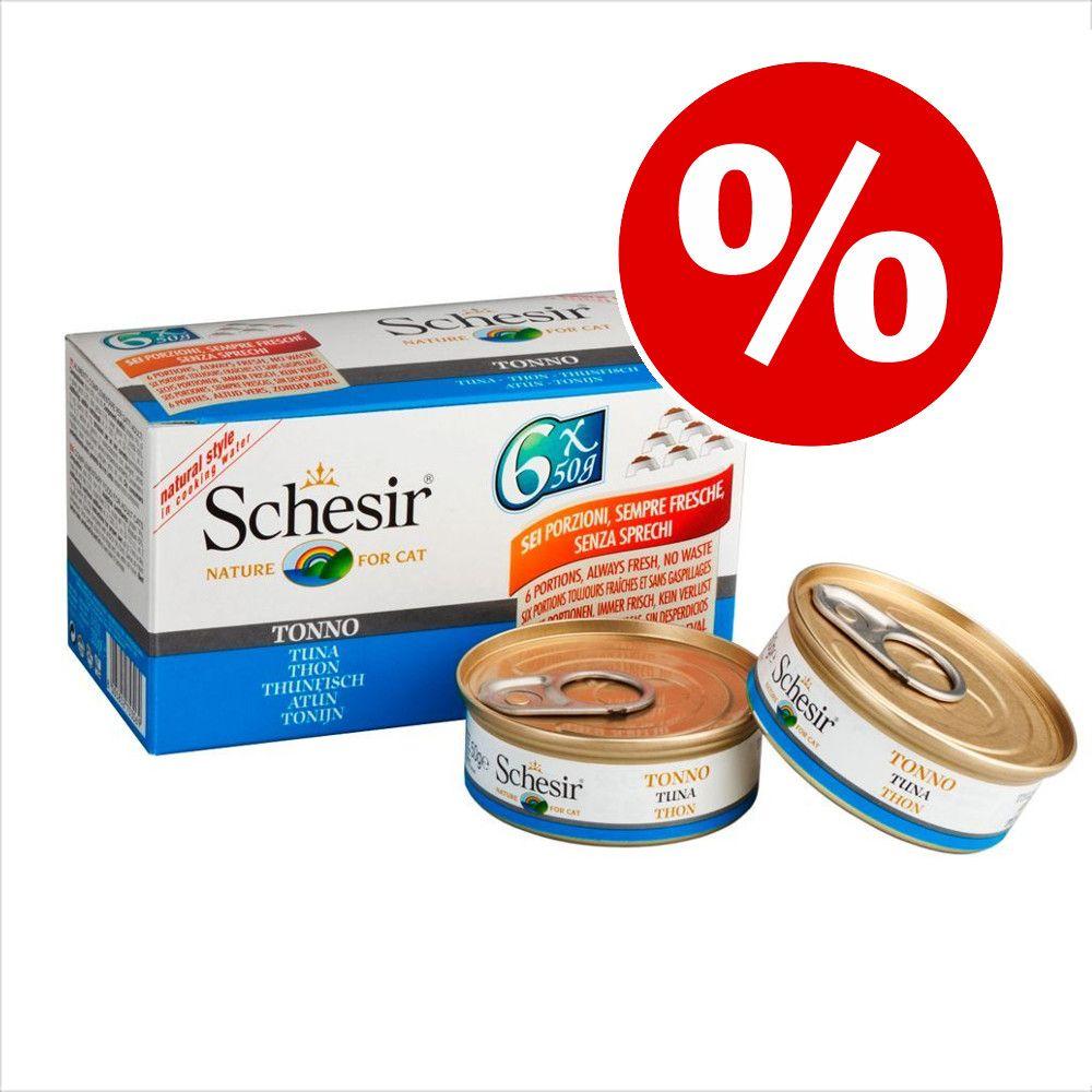 Ekonomipack: Schesir Small Natural 12 / 24 x 50 g - 12 x 50 g Kycklingfilé & anka
