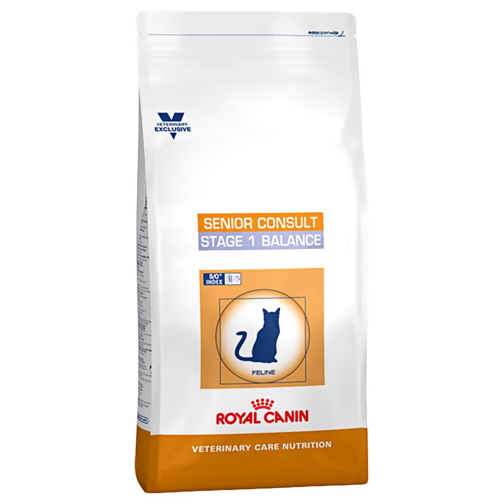 1.5kg Royal Canin Senior Consult Stage 1 Balance Vet Care Dry Cat Food