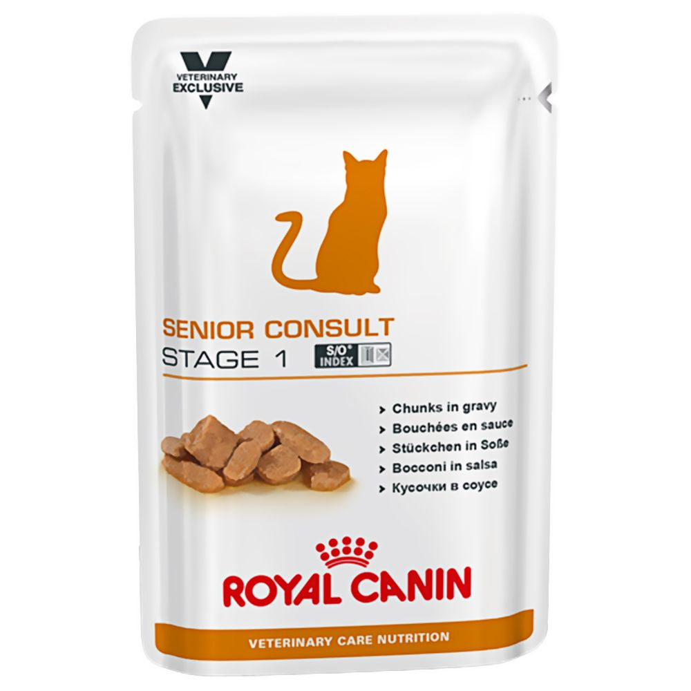 Senior Consult Stage I Royal Canin Vet Care Nutrition Wet Cat Food