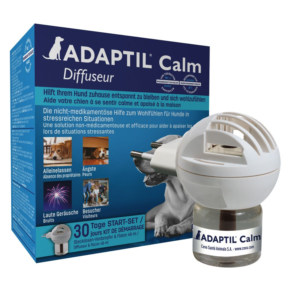 Bilde av Adaptil Diffusor + Refill 48 Ml (happy Home Begynnersett) - Diffusor + Refill 48 Ml