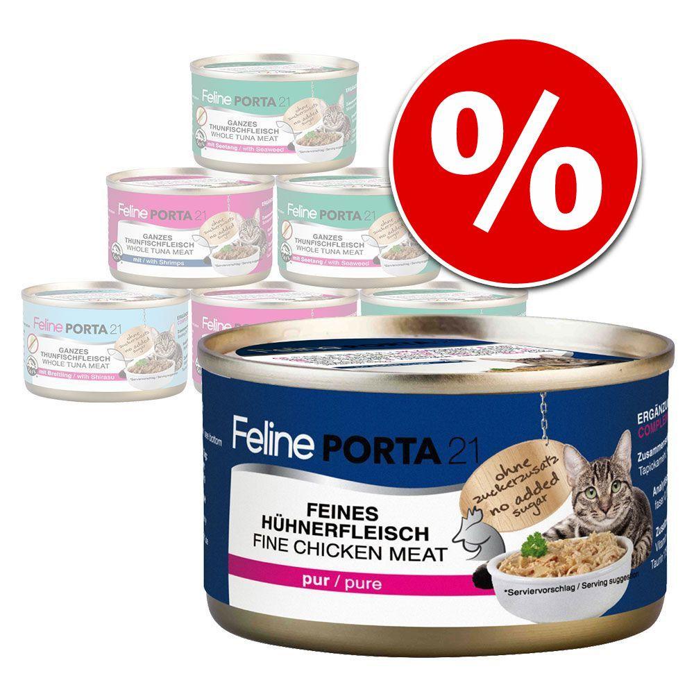 Mieszany pakiet próbny Porta 21, 6 x 90 g w super cenie! - Pakiet rybny