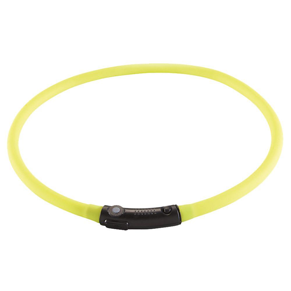 Yukon LED Glow Collar - Green: 20-70cm neck circumference