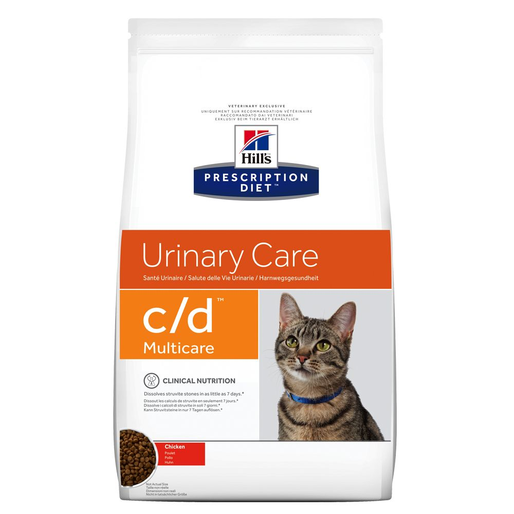 Hill's Prescription Diet Feline c/d Urinary Care Multicare med kyckling - 5 kg