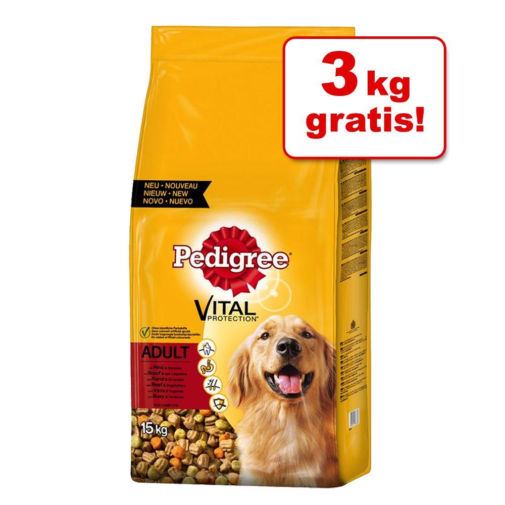 12 + 3 kg gratis! 15 kg Pedigree - Deutscher Sc...