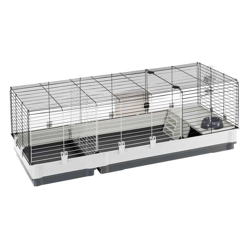 Ferplast Plaza 140 Small Pet Cage Grey