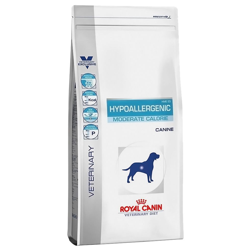 royal c canin hypoallergenic moderate calorie 14 kg. Black Bedroom Furniture Sets. Home Design Ideas