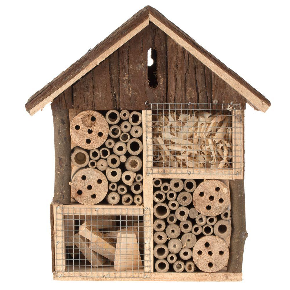 Lillebro insekthotell – L 26 x T 11 x H 30 cm