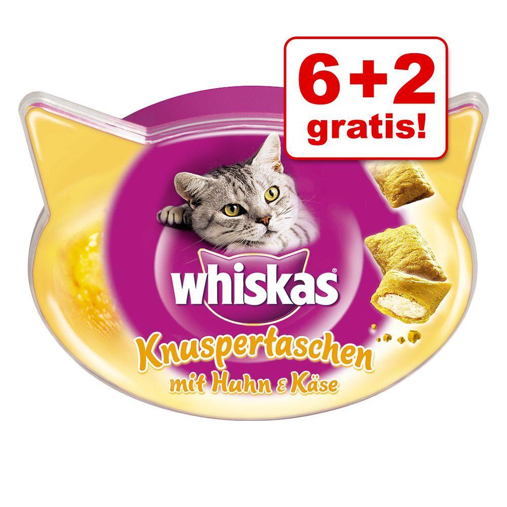 6 + 2 på köpet! Whiskas godbitar Vitamin X-Tra 8 x 72 g