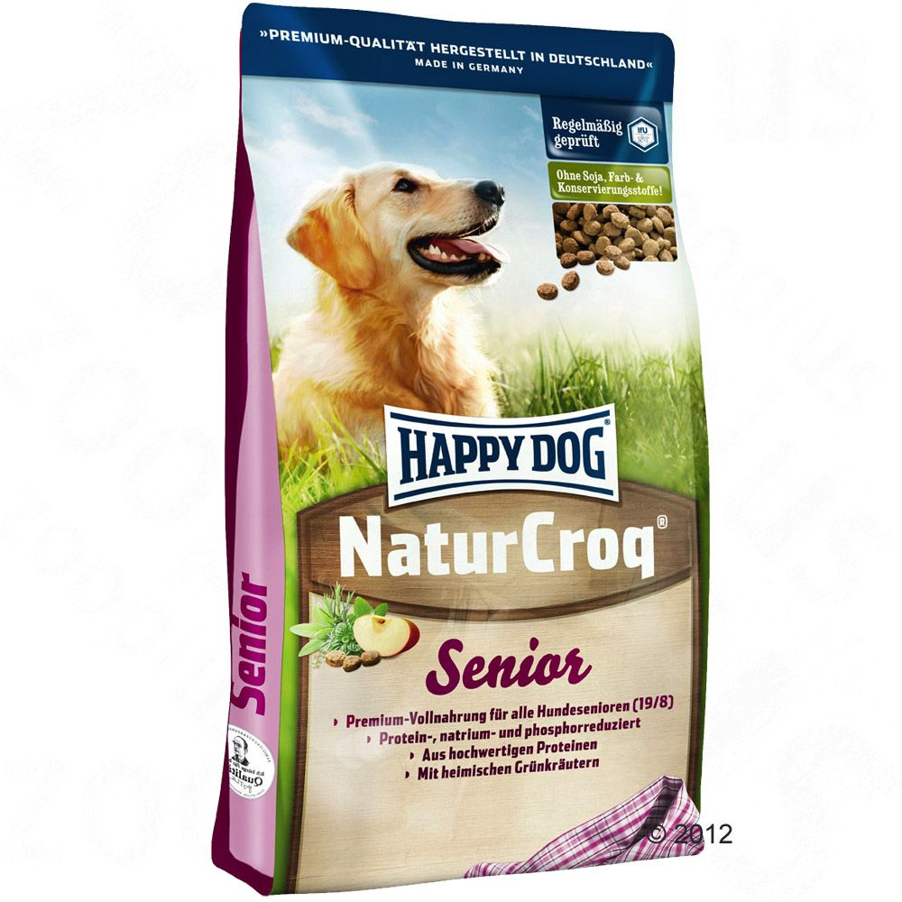 Happy Dog NaturCroq Senior – Ekonomipack: 2 x 15 kg