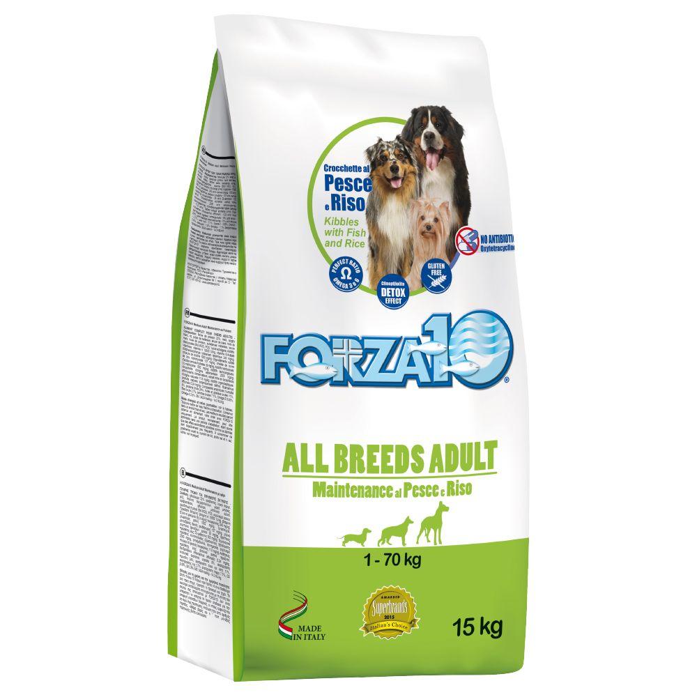 Image of Forza 10 All Breeds Maintenance al Pesce & Riso - 14 + 1 kg gratis - OFFERTA!