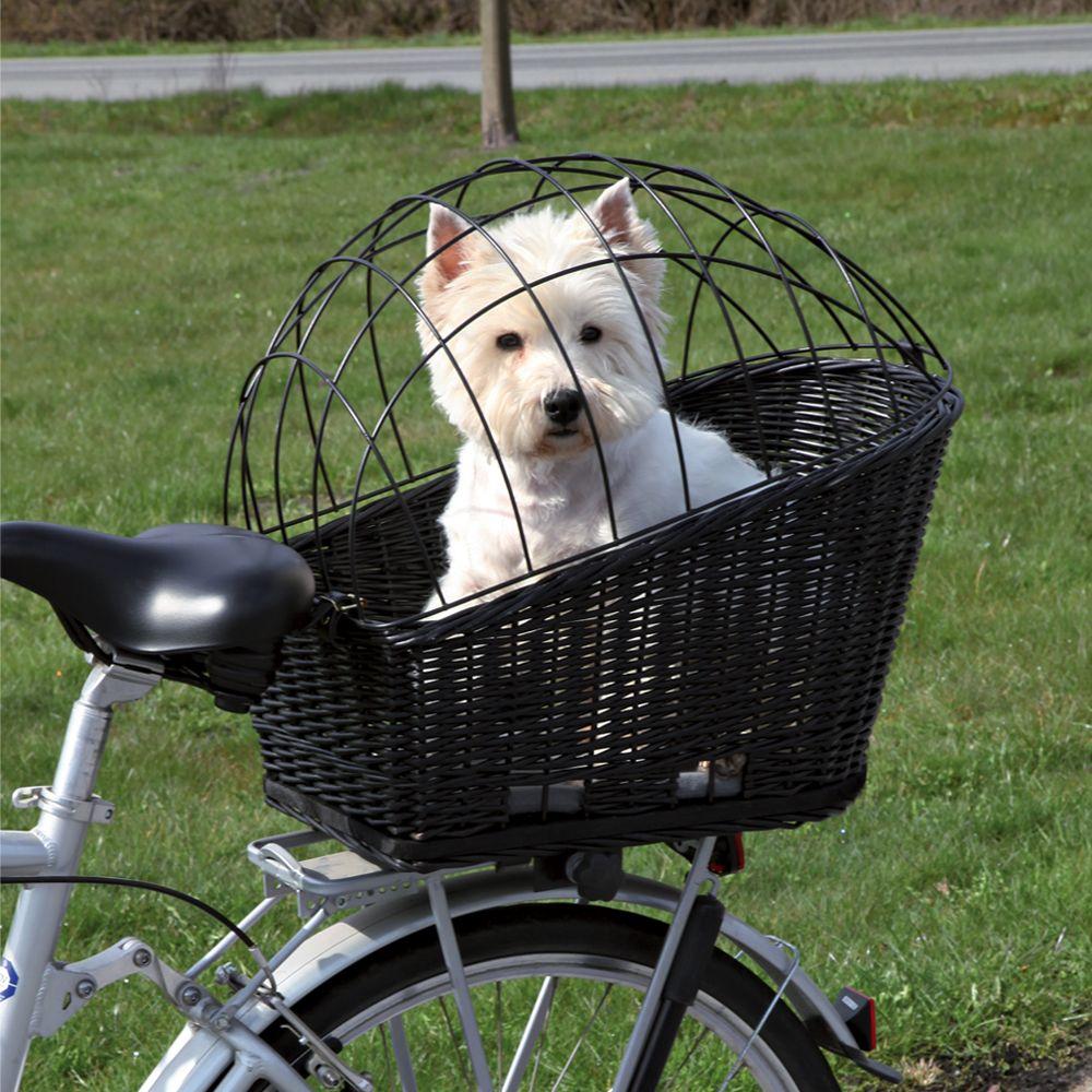 Trixie Fahrradkorb mit Gitter - L 55 x B 35 x H 49 cm