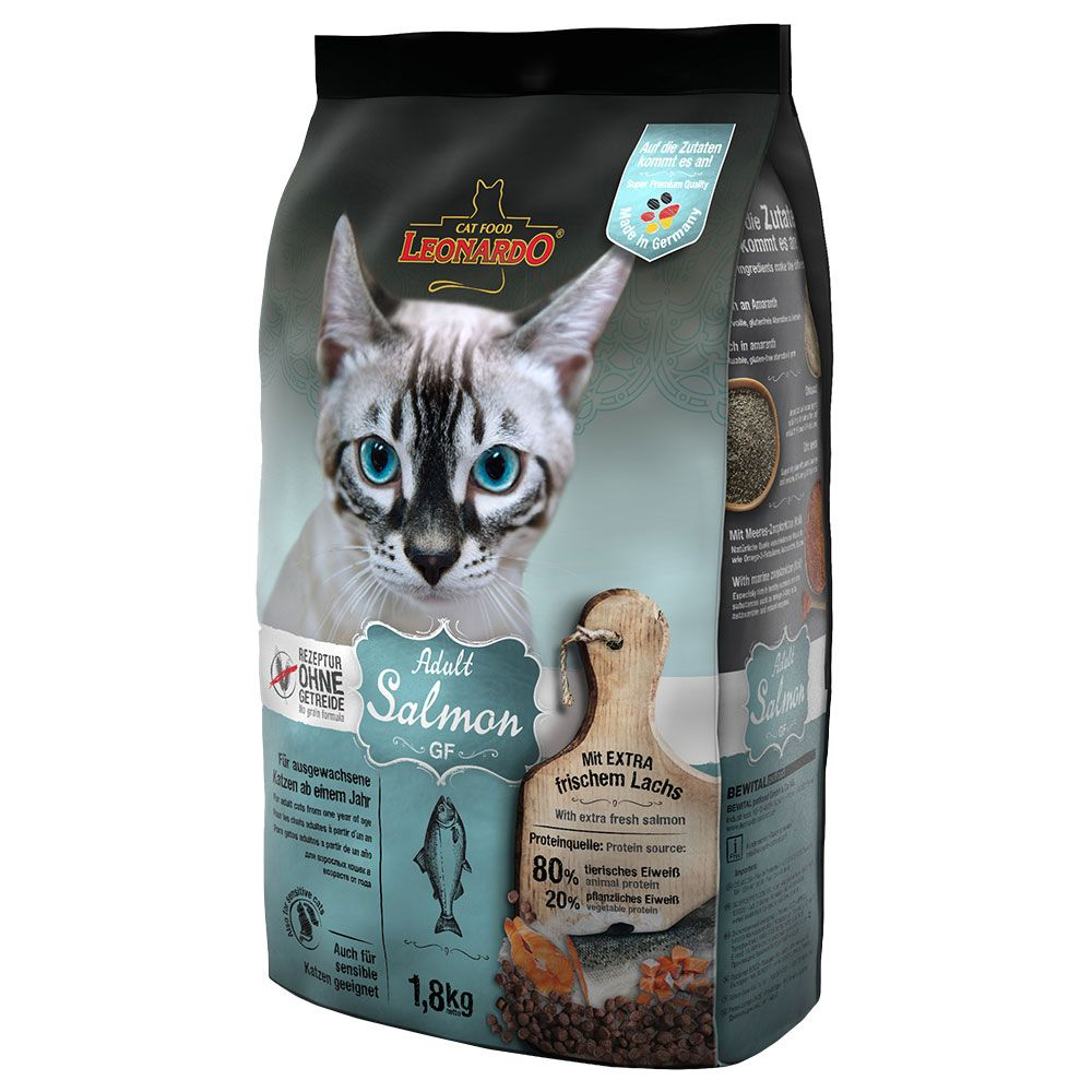 Leonardo Adult Grain-Free Salmon Dry Cat Food