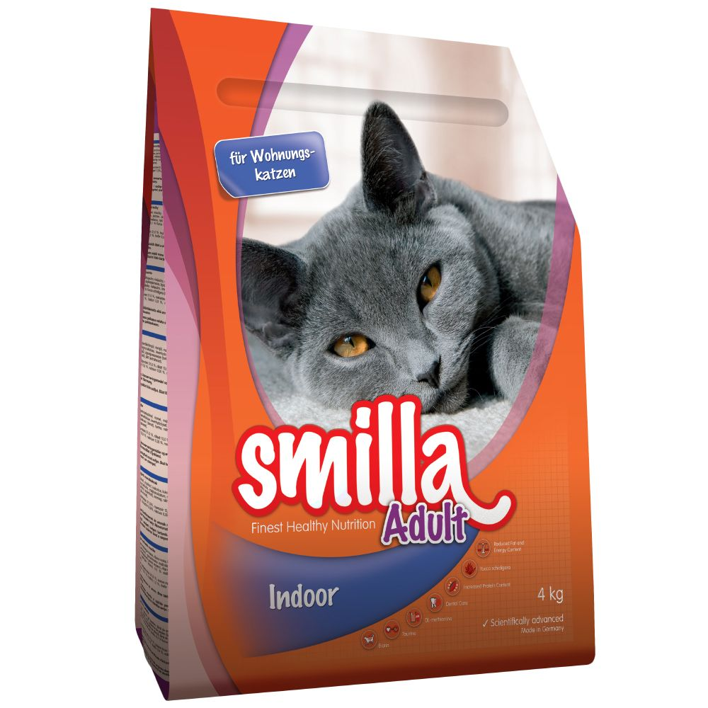 4kg Smilla Dry Cat Food + Trixie Soft Brush Free