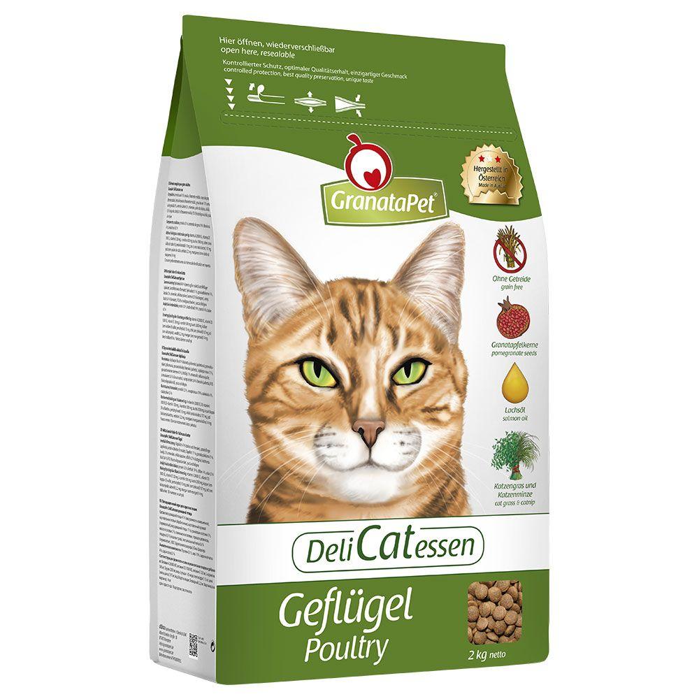 GranataPet DeliCatessen Adult Poultry Dry Cat Food - 10kg