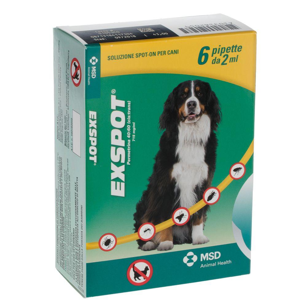 Foto Exspot Spot on per cani - 6 pipette da 1 ml (cani < 15 kg)