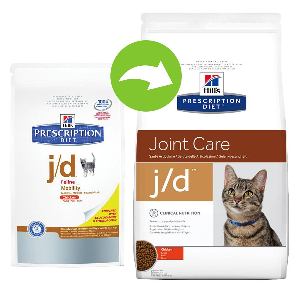 Hill's Prescription Diet Feline j/d - Joint Care - 2 x 5 kg