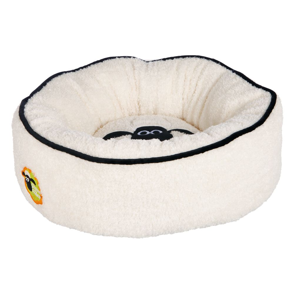 Trixie Shaun the Sheep Dog Snuggle Bed - Diameter 50cm x H 20cm