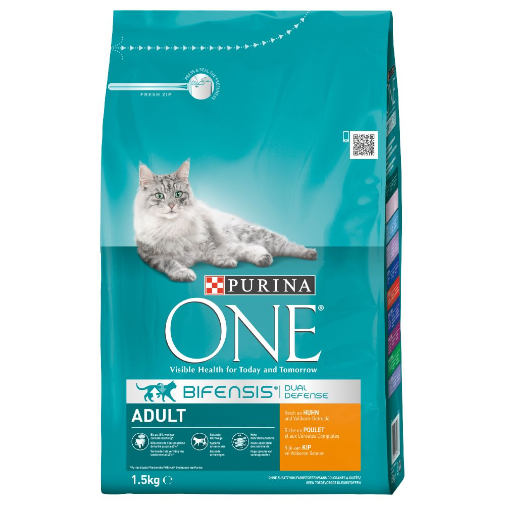 Foto Purina ONE Adult Pollo & Cereali integrali - 2 x 3 kg - prezzo top!