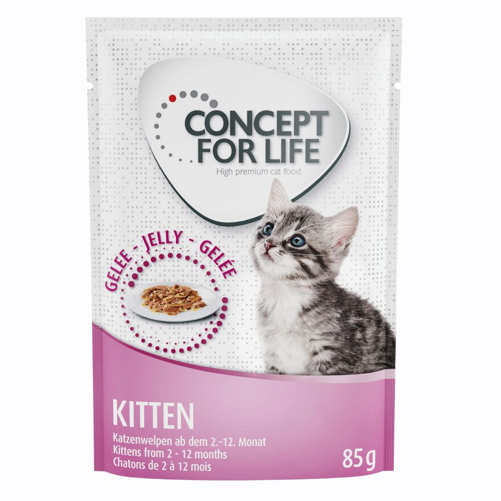 Jelly Kitten Concept for Life Wet Cat Food