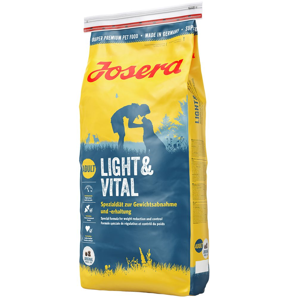 Josera Light & Vital - Economy Pack: 2 x 15kg
