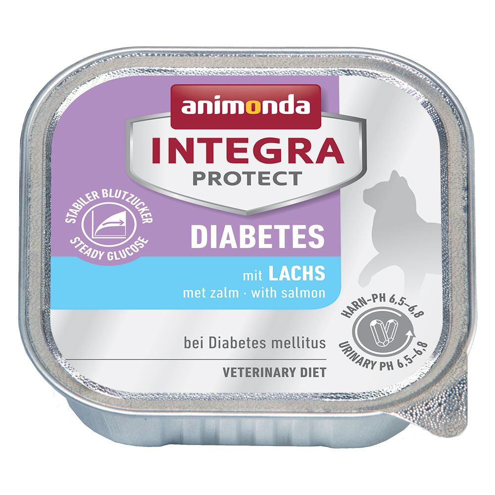 Diabetes Salmon Animonda Integra Protect Wet Cat Food