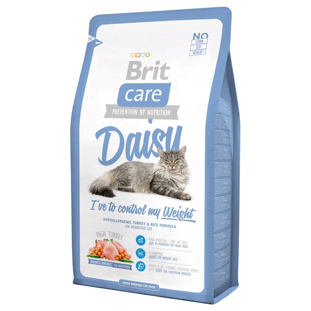 2x7kg Daisy I've to control my Weight Brit Care - Croquettes pour Chat