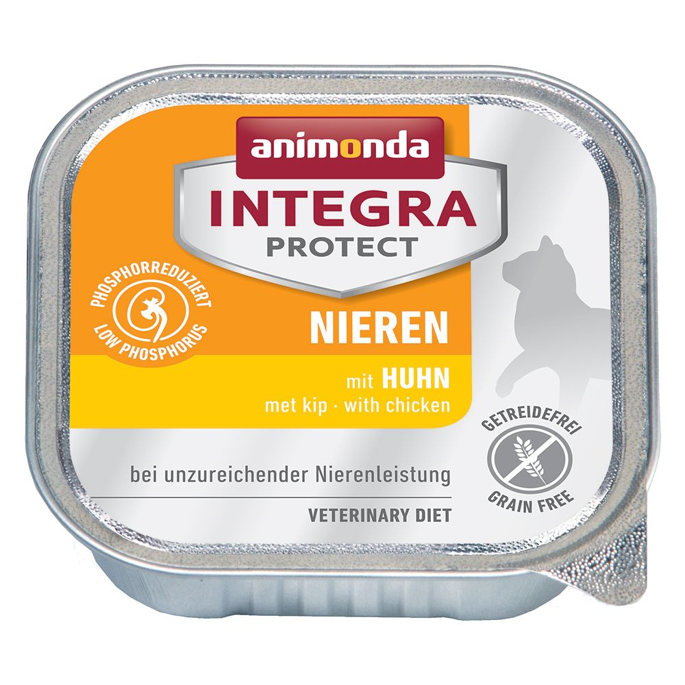 Animonda Integra Protect Adult Renal 6 x 100 g portionsform Kyckling